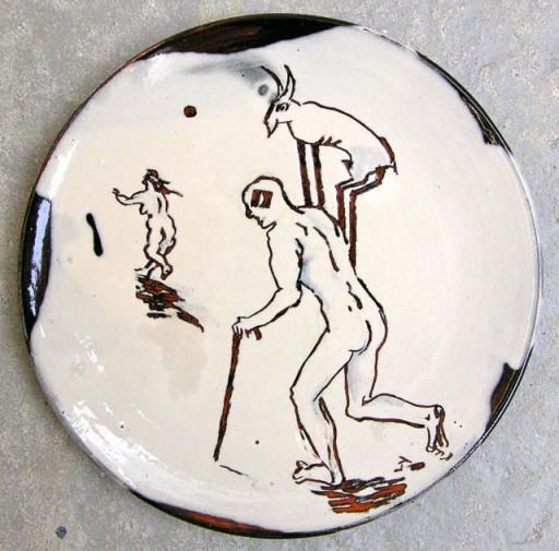 Lars Ly Sort/hvide tallerkener